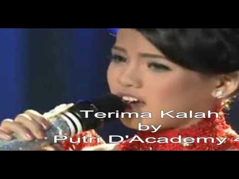 Putri D'Academy 4 & Maria Vitoria D'Academy Asia 2 - Terima Kalah + Lirik