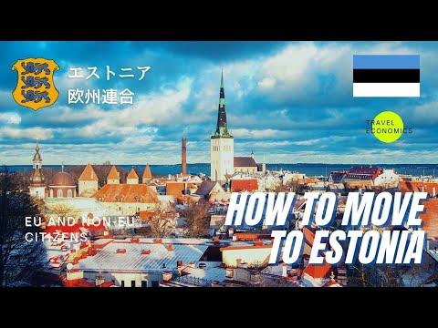 How to Move to Estonia? (Visa, Residence Permit, EU and Non-EU Citizens)