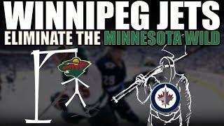 Winnipeg Jets Eliminate the Minnesota Wild