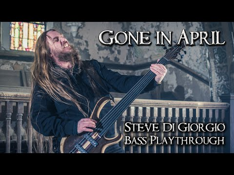 Steve Di Giorgio Fretless Bass Playthrough | GONE IN APRIL, Empire of Loss