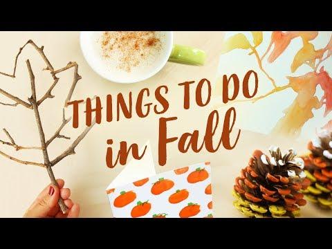 Fun Things To Do When You're Bored in Fall! 🍂 Collab w/ Makoccino | Sea Lemon