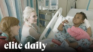 College Students Dress As Disney Princesses And Visit Children's Hospitals [INSIGHTS] thumbnail