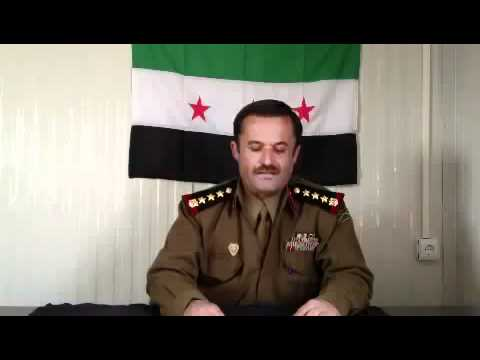 Syria Brigadier General Defects from Assad Army  28 12