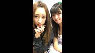 20161218 LINELIVE 原宿駅前パーティーズ 上原瑠愛(原宿乙女)16歳 赤...