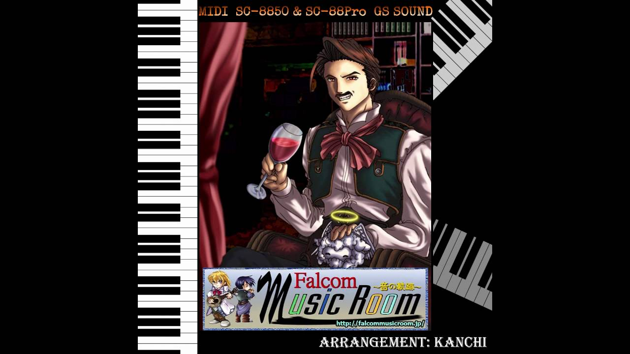 Falcom Music Room MIDI Collection - Vacant Interference (Ys Seven) [NND RIP]