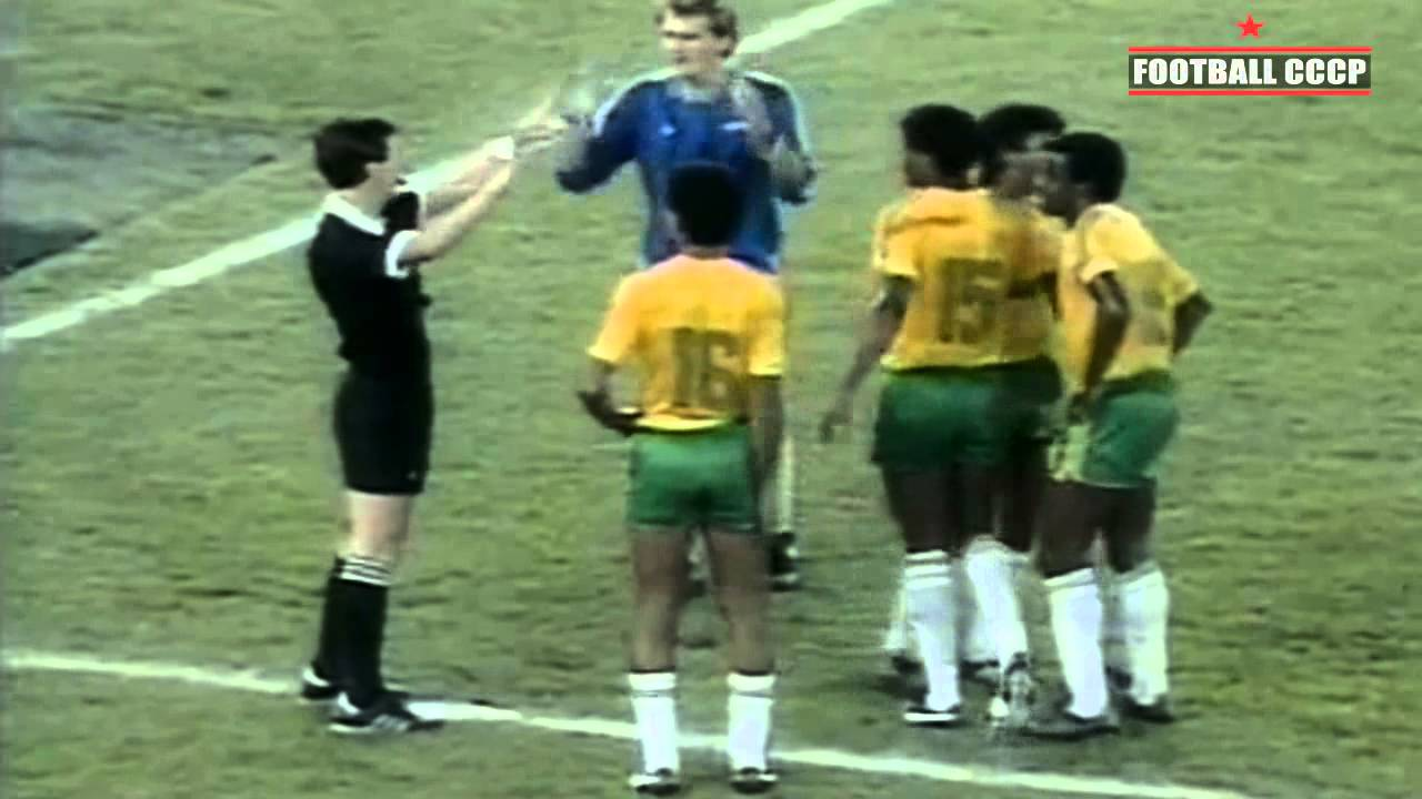 олимпиада 1988 футбол финал пожарной