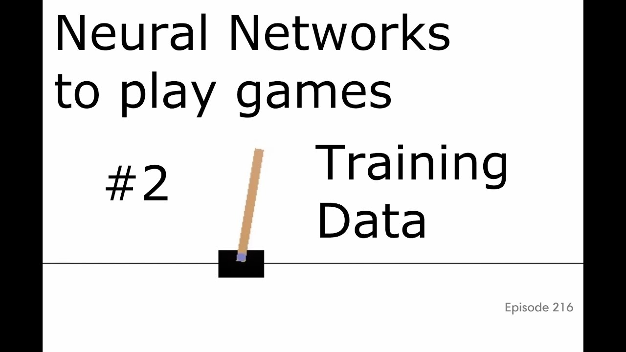 Training Data - Training a neural network to play a game with TensorFlow  and Open AI p 2