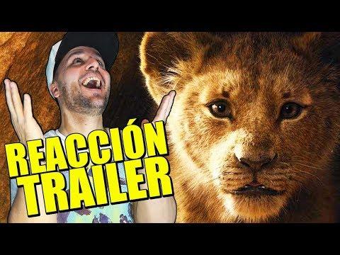 EL REY LEÓN (2019) -  BRUTAL 😭 LLORERA - LIVE ACTION TRAILER REACTION - REACCIÓN - CRÍTICA TEASER