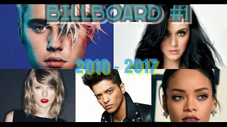 Billboard Hot 100 - No. #1 Songs [2010 - 2017]
