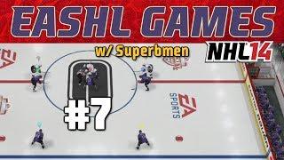 "NHL 14: EASHL Games ep. 7 ""GOONIEST TEAM EVER"""