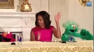 Мишель Обама осваивает новые слова к танцам(, 2014-04-22T05:48:49.000Z)