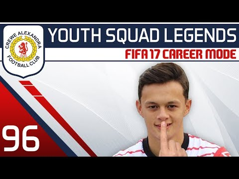 CHAMPIONS LEAGUE FINAL - FIFA 17 Career Mode: Crewe #96 [YOUTH SQUAD LEGENDS | Youth Academy Career]