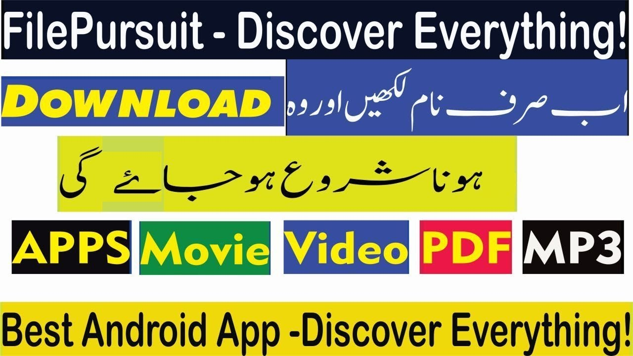 Best Android App Search everything|Discover everything