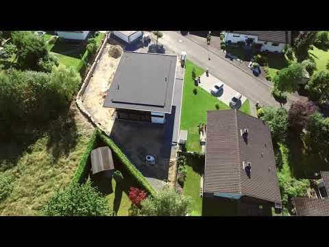 Aufbau eines HUF Haus modum im Westerwald - Zeitraffer ...