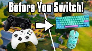 Watch This Video BEFORE Switching To Mouse amp; Keyboard  Fortnite Battle Royale