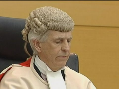 Cameras in court: David Gilroy sentenced in UK's first televised High Court case