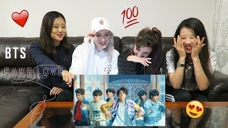 [MV REACTION] FAKE LOVE - BTS | P4pero Dance