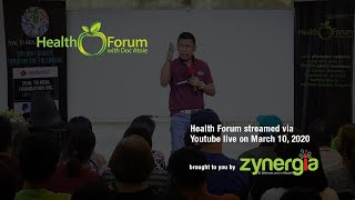 10 March 2020 | Health Forum with Doc Atoie LIVE