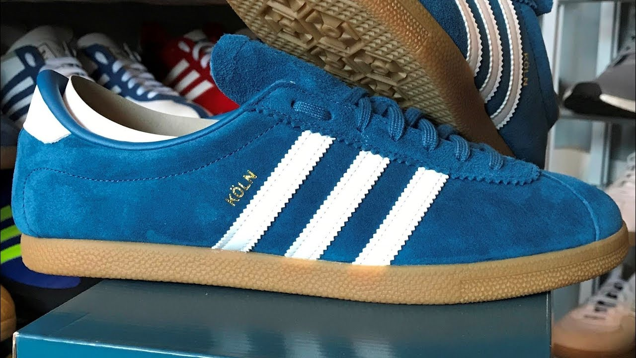 sale retailer ab89f 401b1 Adidas Koln (unboxing  on foot review)