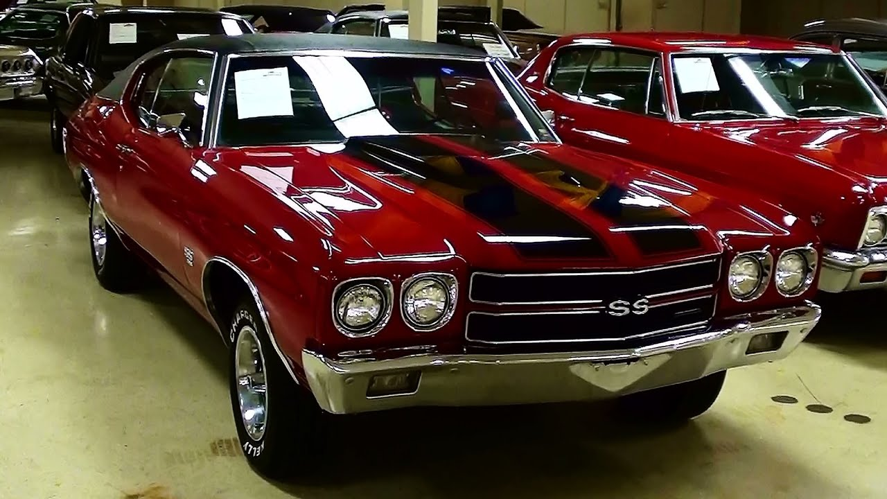 Chevrolet Chevelle Ss Big Block Four Speed Muscle Car