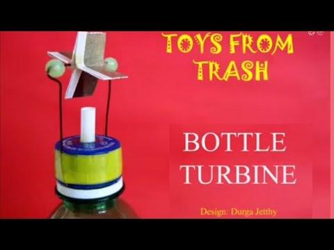 BOTTLE TURBINE - FRENCH - Award winning turbine!