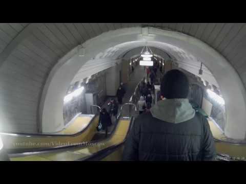 Вход в метро Белорусская