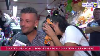 MARTINA FRANCA: IL DOPO FESTA DI SAN MARTINO ALLE GIOSTRE