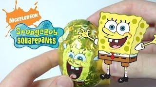 Губка Боб шоколадные яйца / Spongebob SquarePants surprise eggs