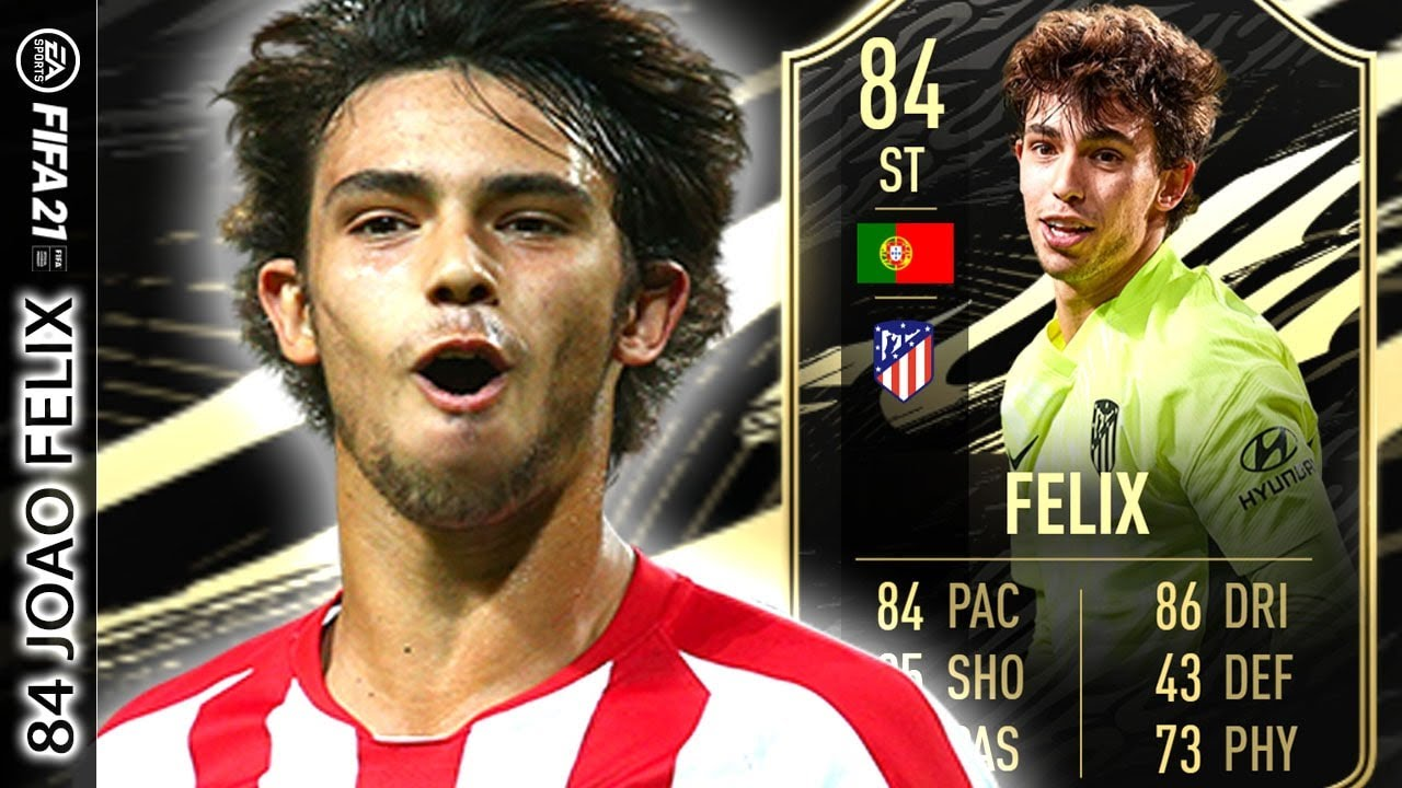 ESPECTACULAR IF, PERO…! 84 Joao FELIX FIFA 21 PLAYER REVIEW TOTW IF   ULTIMATE TEAM - YouTube