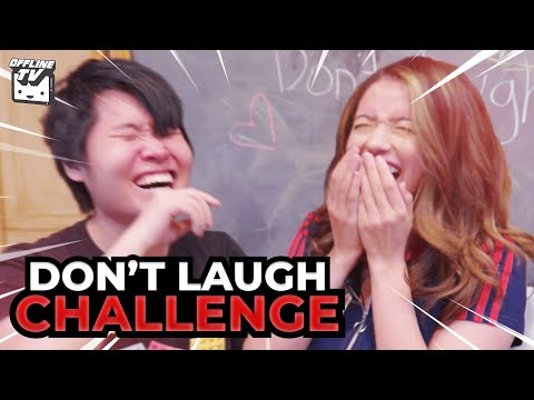 SHE COMPLETELY LOST IT! OFFLINETV DON'T LAUGH CHALLENGE 2 (WITH WATER)