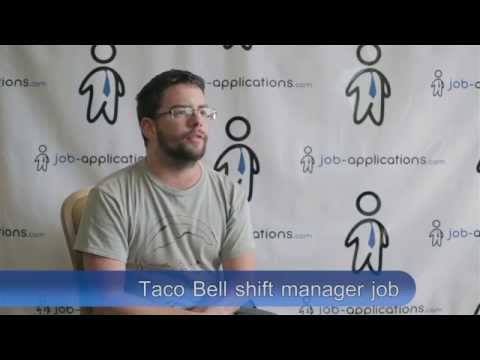 Taco Bell Interview - Shift Manager