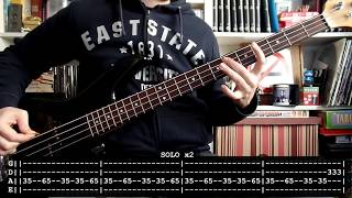 RAMMSTEIN - Engel (bass cover w/ Tabs)