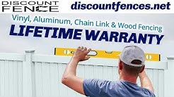 High-Quality Vinyl Fence Installation | Discount Fence | Clearwater, FL