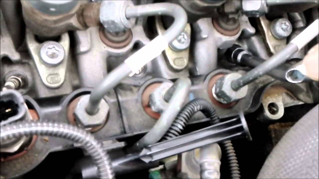 Freelander 2 Wiring Diagram 2005 E350 Fuse Panel Change Glow Plugs - Part Youtube