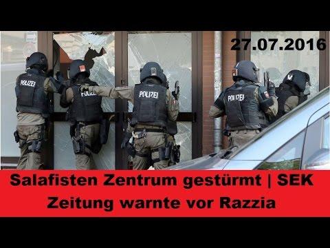 Update SEK Razzia in Salafisten-Moschee | Zeitung warnt Salafisten | Antiterror | Hildesheim