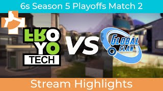 RGL 6s PLAYOFFS Round 2: Froyotech vs Global Clan Ice | Stream Highlights | 4/8/2021
