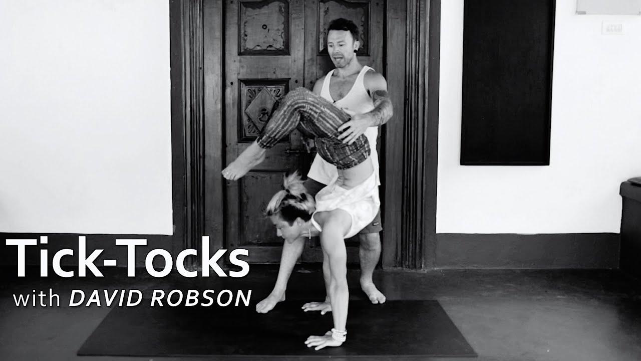 Ashtanga Yoga Tick Tocks with David Robson