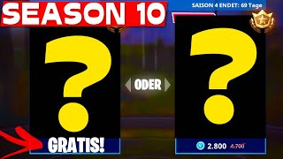Will the SEASON 10 BATTLE PASS BE FREE? | Fortnite