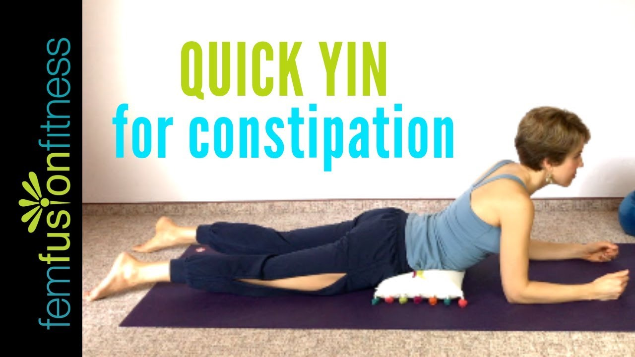 Quick Yin Yoga for Digestion and Constipation (35 min)