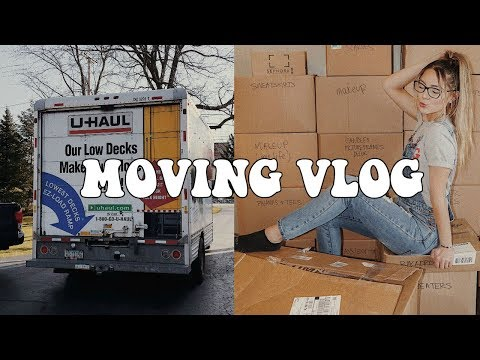 MOVING VLOG || GETTING SETTLED IN || NOEL LABB