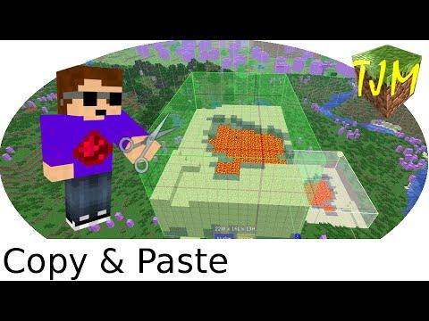 Minecraft Teil Einer Welt In Andere Welt Kopieren YouTube - Minecraft hauser kopieren