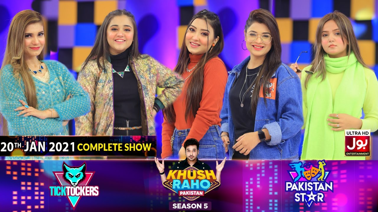 Game Show | Khush Raho Pakistan Season 5 | Tick Tockers Vs Pakistan Stars | 20th January 2021