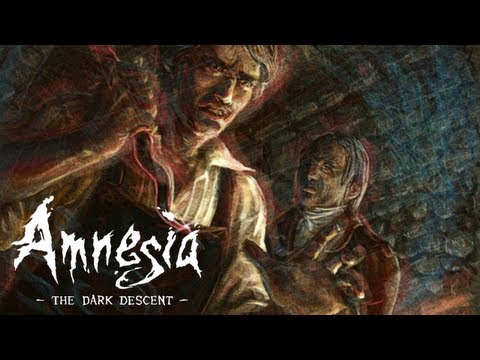 Amnesia: The Dark Descent - Paint the man, cut the lines