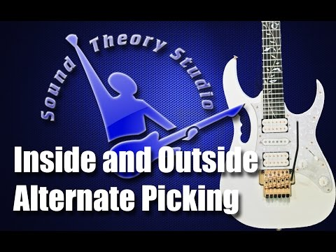 Inside and Outside Alternate Picking (Advanced Lesson)