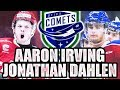 Jonathan Dahlen / Aaron Irving Playing For Utica Comets! Comets Playoff Run Looking Great - Canucks