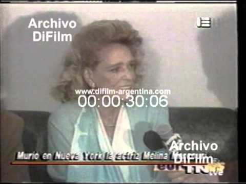 DiFilm - Muerte de la actriz Melína Merkoúri (1994)