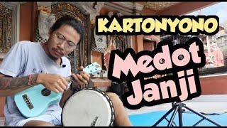 Download lagu KARTONYONO MEDOT JANJI - DENNY CAKNAN || Ukulele Reggae + Djimbe Cover