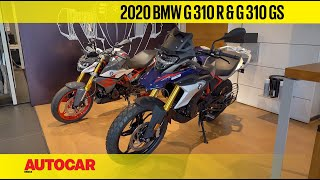2020 BMW G 310 R and  G 310 GS - BS6 power and lower price tags | First Look | Autocar India