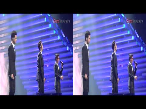 3D Il Volo - Grande Amore - Italy - Final Dress Rehearsal Eurovision 2015.