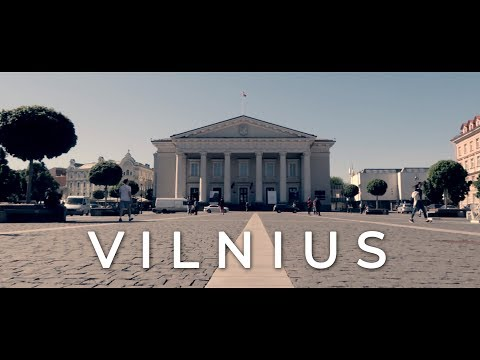 Canon G7X Mark II - 4 days in Vilnius, Lithuania, Cinematic Travel Video